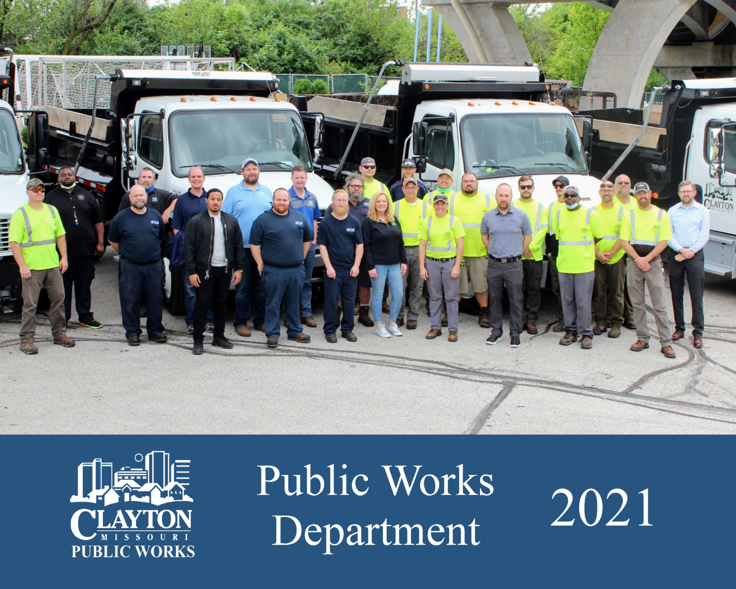 2018 Public Works Staff Group Photo