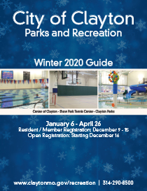 Clayton Parks and Recreation Winter Spring Guide