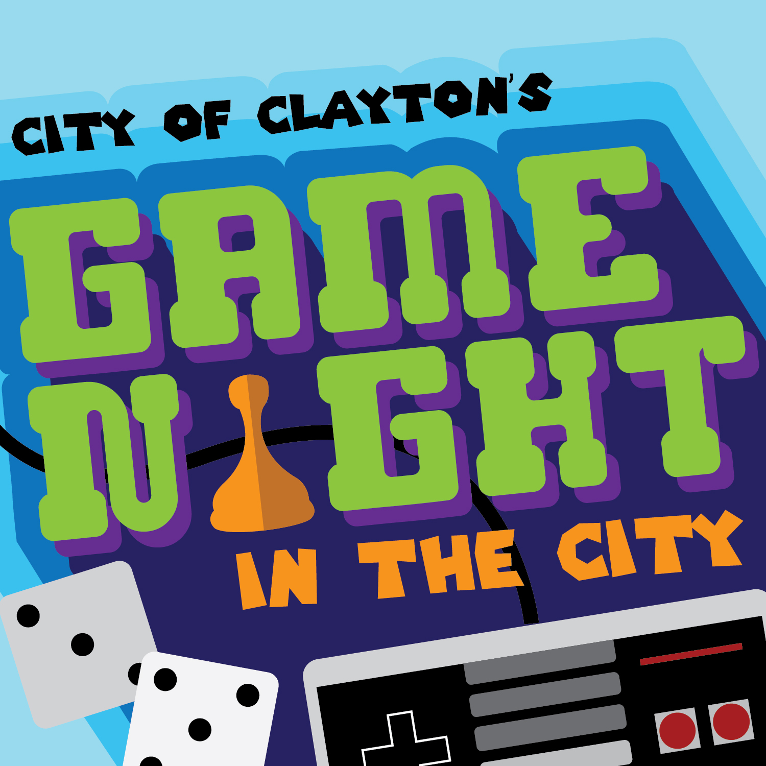 Game Night in the City logo